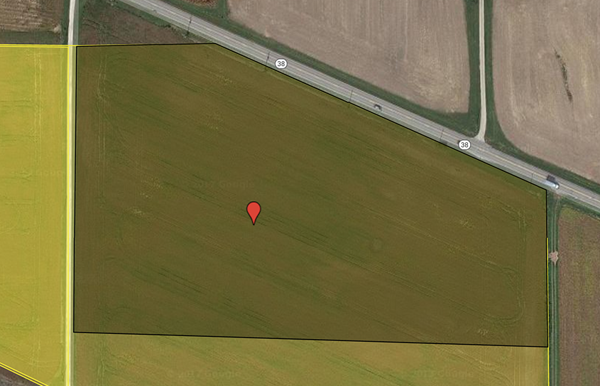 10 acre building lot dayton indiana farm real estate for for Build on your lot indiana