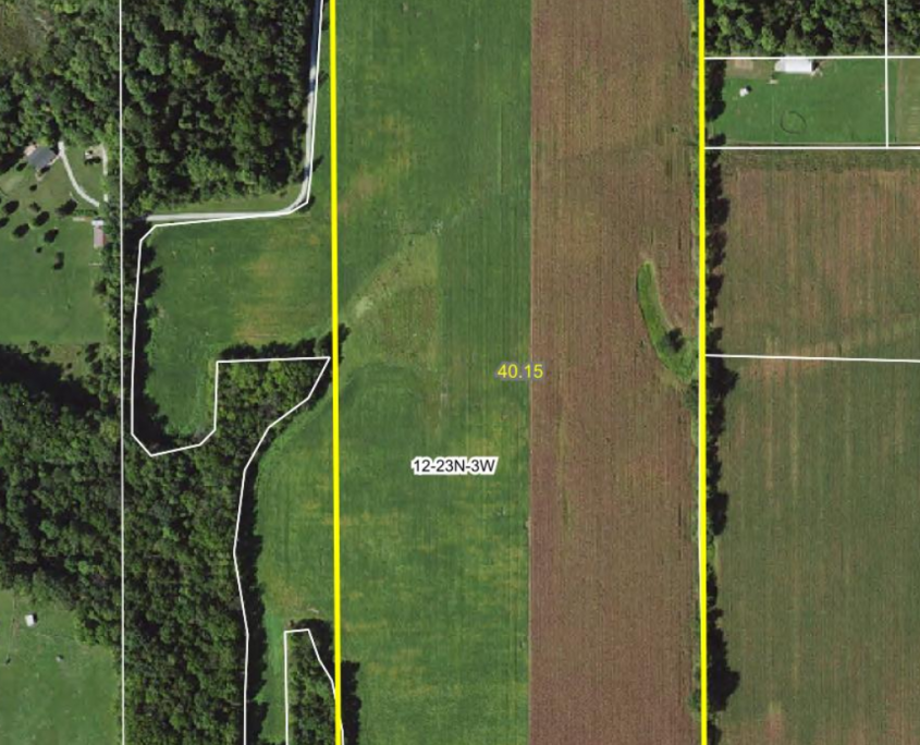Google Solar Map >> 40 Acre Farm for Sale Tippecanoe County Indiana, Lafayette ...
